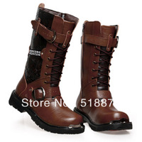 Free Shipping+Hot Top Brand Boots 100% Cowhide Working Boots Waterproof/Wearproof Army Boots Quality Goods Outdoor Safety Boots