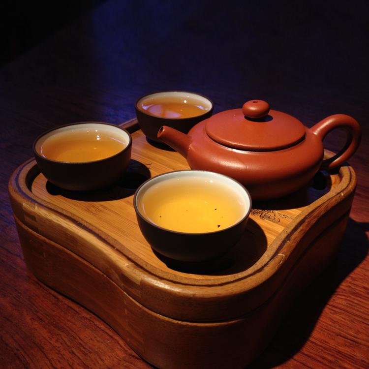 kitchen dining bar drinkware tea set yixing teapot tea mugs water bottle tea cup portable bamboo