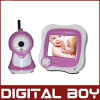 "Digital boy TFT Night 2.4G 3.5"" Wireless Digital Video Talk Baby Monitor Camera ,Baby Care Safety Health Drop Shipping"
