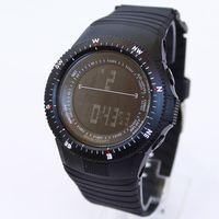 Fashion Electronic Multifunctional Dual Display Sports Men Women's Inveted Watch Timepiece Wristwatch