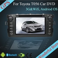 For TOYOTA AURIS/ TOYOTA COROLLA HATCHBACK / COROLLA 2012- 7''Android Car DVD For TOYOTA CP-T055R with 3G Wifi Hotspot RDS