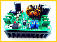 2pcs/lot, 600W/10A  dc Boost Buck Converter Step Up  adjustable power supply Module 5V-30V to 1V-24V