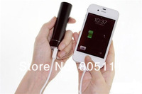 New Portable Mobile Power Bank Metal Cylinder USB 18650 Battery Charger for iPhone MP3