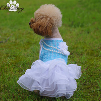 Free Shipping Pet Wedding Dresses xxs xs Puppy Clothing for girl dogs wholesale chihuahua clothes yorkie poodle pitbull bulldog