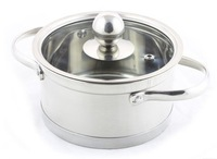 electromagnetic oven use quality thickening stainless steel three layer bottom soup pot