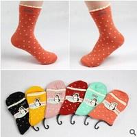 2014 New autumn winnter lovery women's socks