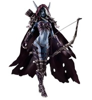 Free shipping World of Warcraft Forsaken Queen Sylvanas Windrunner Figure New in Box puppets