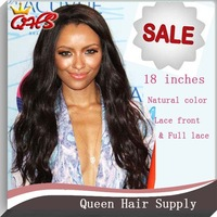 Indian Remy Wet And Wavy Lace Front Human Hair Wigs And Full Lace Human Hair Wigs Bleached Knots Natural Color In Stock