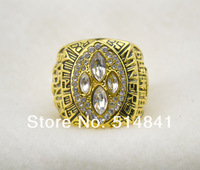 Free Shipping!size 10 Replica 18k Gold Plated,1993 Dallas Cowboys super bow World Championship Ring As Party Gift