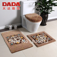 Free shipping New arrival ubiquitous1 yamanju fashion mat luxury bath mat toilet piece set