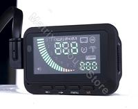 iFOUND F01 Universal Car HUD Head Up Display Speed, Engine Speed, Fuel Consumption, Voltage, OBD2, OBDII Interface