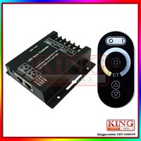 Remote touch controller of double color led strip 12V-24V 8A each channel 102W 384W Free shipping