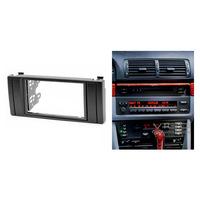 11-041 Car Radio Facia for BMW 5-Series E39 X5 E53 Stereo Dash Kit Install Fascia Face Plate Surround Panel Frame Doulble DIN