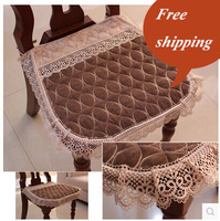 Pearl velvet cushion dining chair cushion chair cover chair pad stool pad computer chair cushion 100% cotton