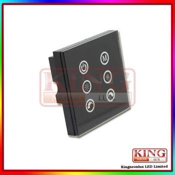 Free Shipping Led Touch Panel Six Key Controller  DC12V~24V, 12V<144W,24V<288W