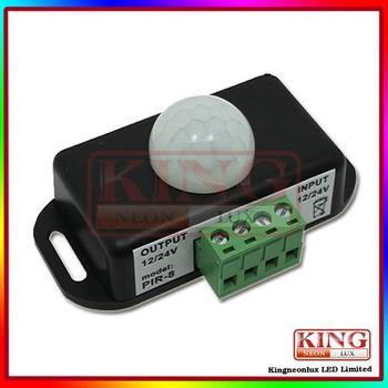 Free Shipping LED Human Body Induction Switch, DC12, 24V; 12V:<62W, 24V:<144W