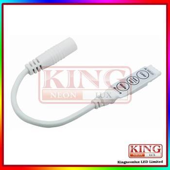 Free Shipping Led Mini Three Keys RGB Controller DC5V, 12V, 24V; 5V < 30W, 12V < 72W, 24V <144W
