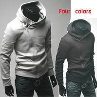 Free shipping men's hoodies jacket plus size sport suit men tracksuits polo sweatshirts dust coat