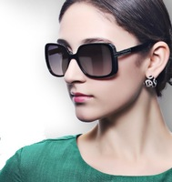 Free Shipping Parzin 2013 Vintage Sunglasses Female Sunglasses Polarized Women  UV 400 Star Style  Sun Glasses