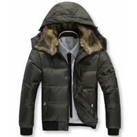 freeshipping new arrlve Septwolves down coat male 2013 men's down coat Men thermal down coat outerwear