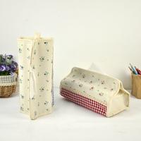 Rustic towel sets box tissue pumping box waterproof storage box cloth paper napkin set H5