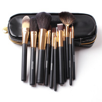 Megaga Professional Beauty Tools Cosmetic Brush Set 12 PCS/Set Exquisite Packaging Wool Cosmetic Brush Set Free Shipping