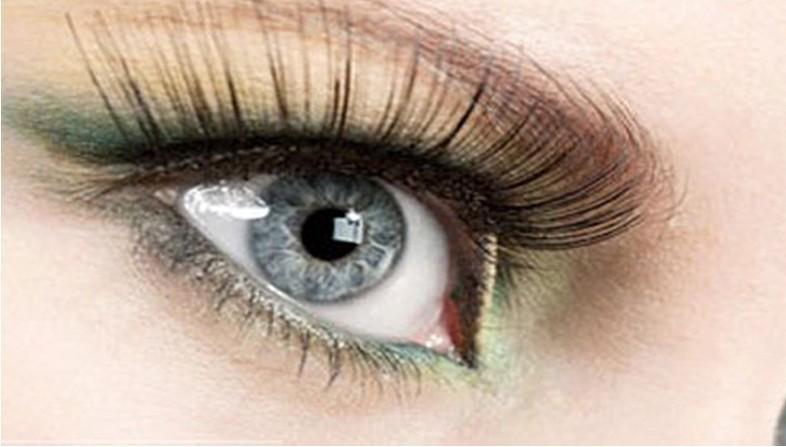 Hot Selling Women False Eyelashes Mixed Engraft Length Boxed Sex Girl Mink Eyelashes Natural Free Shipping A-1102(China (Mainland))