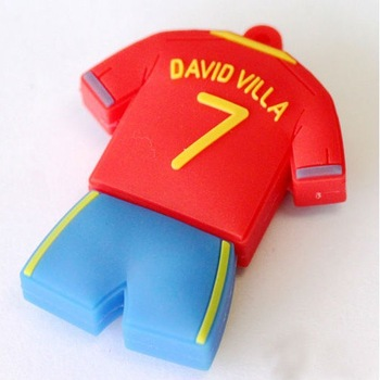 Wholesale Hot Cheap Enough Cartoon Jersey 8GB USB 2.0 Flash Memory Stick Drive Thumb/Car/Pen Gift