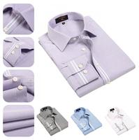 2014 New Top Grade Men Casual Shirts/Solid Color Business Shirt Men/Classic Design Oxford Shirt Men/Free Shipping to Worldwide