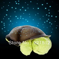 LED Lamp ! Turtle Night Light star Guide for Children Music Lights Mini Projector 4 Colors 4 Songs plush Christmas new year gift