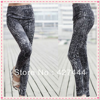 Mid waist sexy jeans Women's Fashion Graffiti Leggings high quality Jeggings Mid waist Cheap price