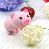 1-64GBcute pig model USB Flash Memory Pen Drive Stick