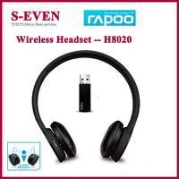 Rapoo H8020 Wireless headset earphone with microphone with touch volume and control Free shipping
