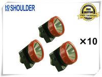 30pcs/lot Christmas Gift LED Mining Lamp Upgrade LD-4625 camping led headlamp (Free Shipping)