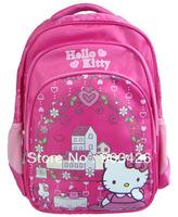 40pcs/lot Free Shipping Via DHL! 2013 Fashion Hello Kitty Carton School Bag  for Children Ruckack Backpack G3047 Wholeale