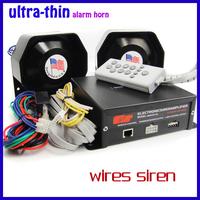 Siren  AS830 louder speaker  Police siren Alarm 400W ultra thin horn   Powe Motorcyle electronic siren
