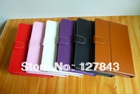 DHL Free Shipping 10pcs/lot  Universal 8 inch Android Tablet Leather Flip Case Cover 8inch PC Tablet Leather Case