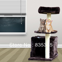 Pet toy cat climbing frame cat litter box board