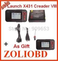 270 USD/SET 2014 Newest launch Creader VIII Scanner Code Reader X-431 Creader VIII CRP129 Creader 8 DHL free online update