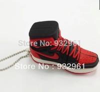 Retail new 2013 novelty cartoon sport Shoe USB Flash Drives thumb pendrive memory stick disk 2GB 4GB 8GB 16GB 32GB Free shippin