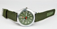 Hot Selling New Military Man Swiss Army General Canvas Wrist Watch Luminous Sports Watch With Date Week Free Shipping