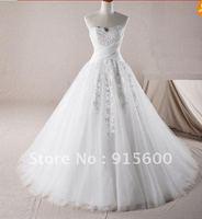 New White/Ivory Wedding dress Gown size 6 8 10 12 14 16 18++---V24