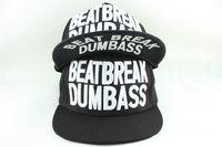 Korea Fashion Men's Women's Snapbacks Embroidery Letters Beatbreak Dumbass Print baseball Caps for hip hop hats Free Shipping