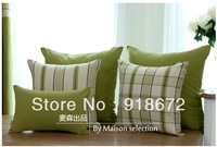 Mediterranean cotton pillow cover & Original Style green pillow covers
