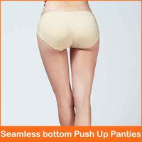 Free shipping Seamless Nice bottom Panties Beautify Buttocks Push Up Lingerie Women's Underwear,Sexy Padded Panties