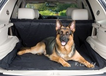 Winnie car/vehicle trunk cover for pets, dogs, oxford dog seat cover, black, size 150*120 cm, universal for car(China (Mainland))