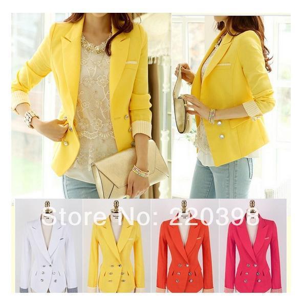 Yellow Blazer Women