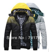 New Arrival 2013 Mens Winter Down Jacket Military Parka Men's Warm Thickening Jaqueta Brand Coat Sports Outdoor Jackets For Men