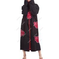 S5Q Cosplay ninja Akatsuki Orochimaru uchiha madara Sasuke itachi cloak clothes Free Drop Shipping