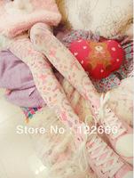 Freeshipping  Spank zipper HARAJUKU  lolita amo bear candy sweetheart pantyhose TDX-48